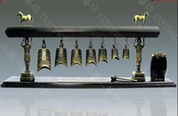 bell fine art - National fine antique bronze bells Zeng Hou B bells Crafts foreign guests gifts home office Decoration
