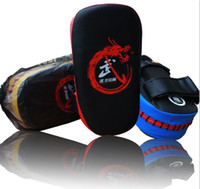 Wholesale New Colors Thai Kick Boxing Strike Curved Arm Pad MMA Focus Muay Punch Shield Mitt