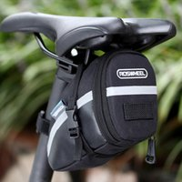 Wholesale Roswheel Bike Saddle Bag Waterproof Bicycle Bag Rear Seat Pouch Quakeproof Mountain Cycling Saddle Seatpost Tail Pouch Package