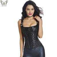 achat en gros de bébé gothique-Corset waist trainer veste corsets steampunk party sexy modeling sangle corselet et bustiers veste gothique hot baby shaper