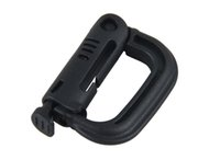 Wholesale New Arrival Mountaineering D Ring Buckle D Ring Locking Carabiner Pack CL33