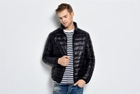 Wholesale 2016 men new thin down jacket Super light thin Men s stand collar down jacket Convenient to carry