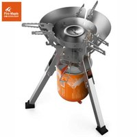 Wholesale Outdoor new style Titans camping an integrated gas tank stove picnic picnic wind stove stove