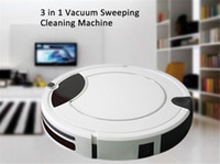 Wholesale Home Robot Mopping the Floor Machine Vacuum Cleaner TC with LCD Display Touch Control Automatic Vacuum Cleaner Intelligent Life