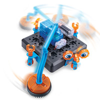 Wholesale Intelligence Toys Space Cleaning Robot D Programmable Creativity DIY Robot Kit For Puzzle Assemble Robot Educational Toys Gift For Kids