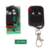 Wholesale AC180 V Working Way MHz M Remote Control Transmitting Distance Switch With Button Smart Remote Control L3EF