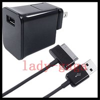Wholesale AC HOME WALL CHARGER Power ADAPTER USB CABLE CORD for SAMSUNG GALAXY TAB P5200 P3200 T310 Lite Tab T530 T330 T230