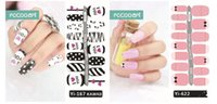Wholesale Hot Selling Nail Art Stickers Colorful Nail Stickers Twelve constellations Halloween Kawaii Nail Ary Stickers From alisky
