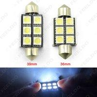 Wholesale White mm mm No Error Canbus LED SMD Car Reading Light Festoon Dome LED Light Bulbs