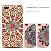 abs pattern - Apple iphone S Plus Back Cover luxury hot sale Mandala Flower Elephant Mandala Pattern Hard Back Cases for Iphone Smart Case