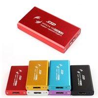 Wholesale New Portable USB External mSATA SSD Converter Adapter Enclosure Case