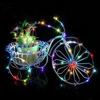 amazon shipping box - GF AA battery box copper lights string led decorative lights Amazon Halloween Christmas fast shipping