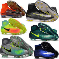 aa beige leather - 2017 original Mercurial Superfly CR7 FG Football Boots Hot Hypervenom Phantom Kids Football Soccer Shoes Magista Obra Cleats Trainer