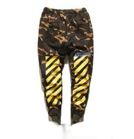 Wholesale PALACE Skateboard Pants Men CLSC U S ARMY Military Camouflage Justin Bieber Purpose Tour Autumn Winter Warm OFF WHITE Trousers