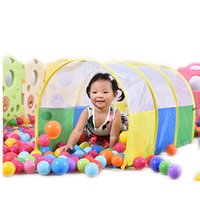 Wholesale Children Play Tunnel Toy Tents Child Kids Pop Up Tube Best Gift Kids Toys
