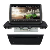 Quad Core Android 5.1 voiture audio lecteur DVD pour Mazda 3 Mazda3 Axela avec radio GPS 3G wifi Bluetooth TV DVR USB OBD 16GB ROM voiture DVD