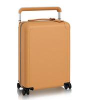 al por mayor liar presenta la maleta-Maletín de viaje de 4 ruedas de cuero de primera calidad de grado superior HORIIZON 50 M23209