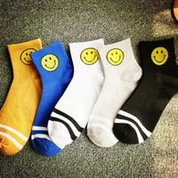 Wholesale 2016 Korea Emoji Smile Face Socks girl and boy Cartoon Cute Casual socks Fashion Tide Brand Cotton Sock
