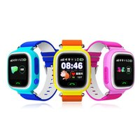Dispositivo de niño perdido España-Hot Selling GPS Q90 Pantalla táctil WIFI Posicionamiento Smart Watch Niños SOS Llamada Ubicación Finder Dispositivo Tracker Kid Safe Anti Lost Monitor