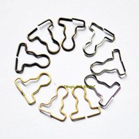 Wholesale 100pcs mm Wide Suspender Buckles fit for DIY doll clothes accessories doll clothes buttons DIY Mini Metal Buttons