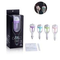 air freshener plug - Car Plug Nanum Air Humidifier Purifier Vehicular Aromatherapy Ultrasonic Humidifiers Purifiers Air Cleaning Cool Freshener Rotation ML