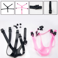 Wholesale Retail Adjustable Rubber Straps and Plastic Parts for Mixed and Solid Silicone Masks Silicone Mask Accessories
