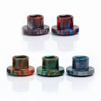 Wholesale Epoxy Resin Drip Tips For Cleito Atomizer Tank Best Cleito Mouthpiece Colorful in stock DHL free