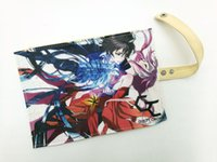 Wholesale Students Canvas Stationery Anime Guilty Crown Children Convenient Storage bag Colorful Roll Bag Hasp Bag Ouma Shu Storage Case