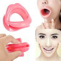 Wholesale New Silicone Rubber Face Slimmer Massage Muscle Tightener Anti Aging Anti Wrinkle Mouth BS88