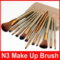 Wholesale N3 Power Brush Makeup Brushes Professional Make up Brush Kit Cosmetic Brushes Tool Set DHL