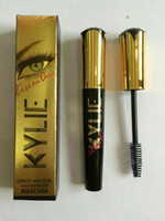 Wholesale kylie jenner Kiss Me Once D Fiber Lash Mascara makeup Lengthening Transplanting Gel Natural Fiber Eyelash Extension DHL