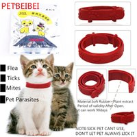 bell bone china - Hot Adjustable Pet Collar Cat Protection Neck Ring Flea Tick Mite Louse Remedy Coleira Para Gato for