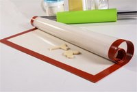 Wholesale 30 cm Silicone Fiberglass Baking Mat DHL Food Grade Non stick Rolling Sheet Kitchen Bakeware Pastry Tools