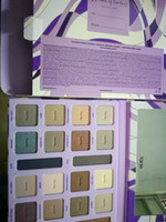 Wholesale 2017 tarte colors Limited Edition Color Vibes Amazonian Clay Eyeshadow Palette Tarte palette Swamp Queen Eye Shadow