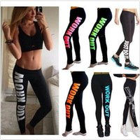 Wholesale Work out leggings cotton printed leggings yoga fitness leggings gym sport jeggings tights pencil pants