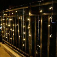 ac belts - Indoor and outdoor decorative lamp string V V Window The eaves Railing decorative LED lamp string belt Tail plug colors