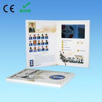 advertising brochure - inch LCD Screen Brochure Universal Video Greeting Cards Fashion Design Video Advertising Cards For Sale HYH