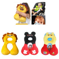 as pic therapy column wholesale baby neck pillow head protection cute baby travel pillow kids car seat head support pillows for infant 3 18 months