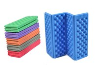 automatic mattress pad - Camp mattress Portable Waterproof Chair Picnic Mat Pad Foldable Folding Outdoor Camping Mat thermarest Seat Foam Colors