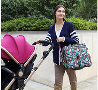 Wholesale New fashion Multifunction mom bag sets High capacity handbag Diaper Bags Mother and child package styles C1624