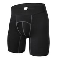 online shopping Men White Underwear Pants - New Brand Design Men's Compression Shorts Jogging Running Short Pants Underwear bodybuliding Clothing Yoga Gym Fitness Running Shorts 6015