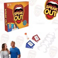 animal speak - Speak Out Game Best Selling Hottest Family Catch Phrase Games Board Game Interesting Party Mother Daughter Game Party Game