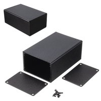 aluminum electronics enclosure - Universal Aluminum Box Instrument Meter Enclosure Case Project Electronic DIY MM