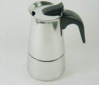 Metal best coffee percolator - 2 Cup Stovetop Espresso Moka Coffee Maker Pot Best Polished Stainless Steel Coffee Percolator with Permanent Filter Heat Resistant