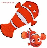 bedroom suits - Kids sleepg bag Finding Dory blanket Nemo Blankets sleepg bag Fleece Mattress Sofa Bedroom Travel Blankets suit for Y KKA992