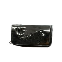 Wholesale white black handbag Cosmetic bag make up bag chain shoulder handbag PU leather bag