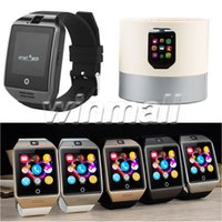 Android Polish Sedentary Remind 100pcs Smart Watch Phone Q18 Support SIM TF Card GSM Bluetooth Smartwatch With Camera for IOS Android Phone PK DZ09