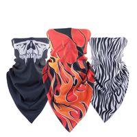 Wholesale 2016 New Winter Face Masks Scarf Keep Warm Cap Neck Warmer Motorcycle Bike Windproof Thick Skull Ghost Ski Mask Balaclava