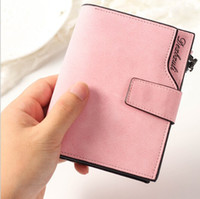 Wholesale 2017 Women Short Wallet Handbag Brand Womens Wallets And Purse Female Clutch Purse Carteiras Femininas Credit Card Holder Coin Purse
