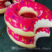 big inflatable swimming pool - water toys new Donut Swimming Float Inflatable Swimming Ring Swimming pool for children Life buoy Beach Toys Summer toys